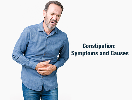 Constipation Symptoms and Causes