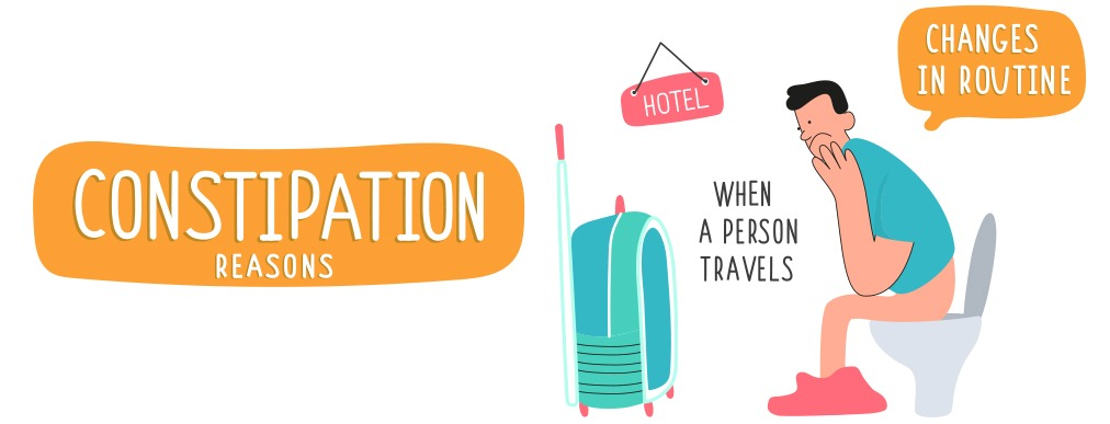 How to stay regular and avoid constipation while travelling?