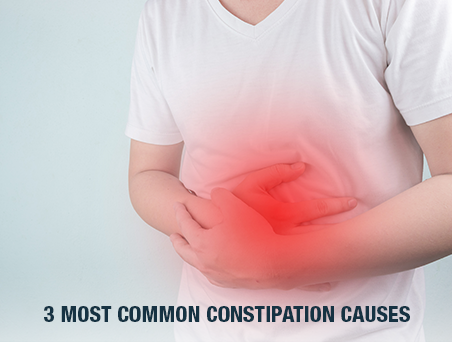 3 Most Common Constipation Causes