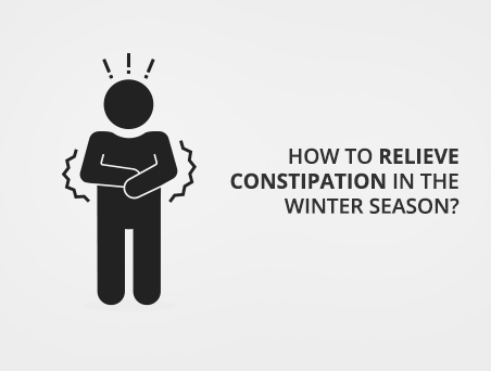 How to relieve constipation in the winter season